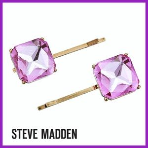 🏷 🆕 Pink & Gold Hair Clips   Jewelry Accessory